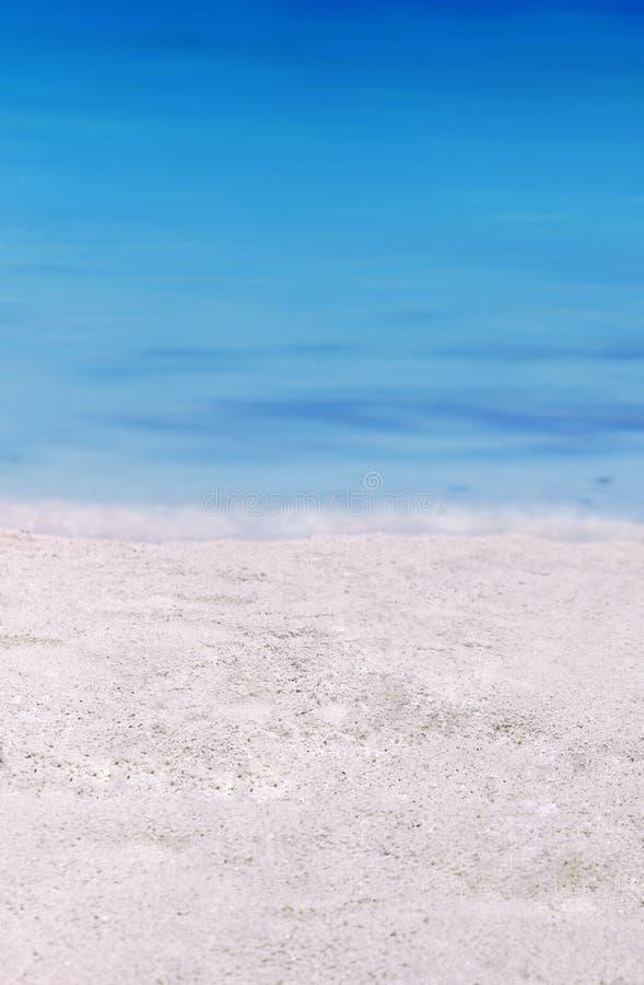 铺沙海运 免版税库存图片