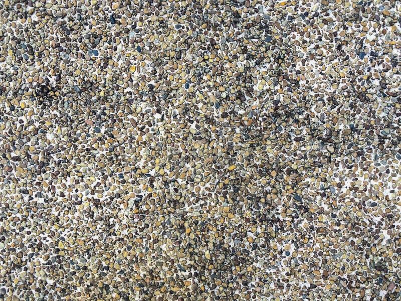 铺石渣纹理表面作为背景 图库摄影
