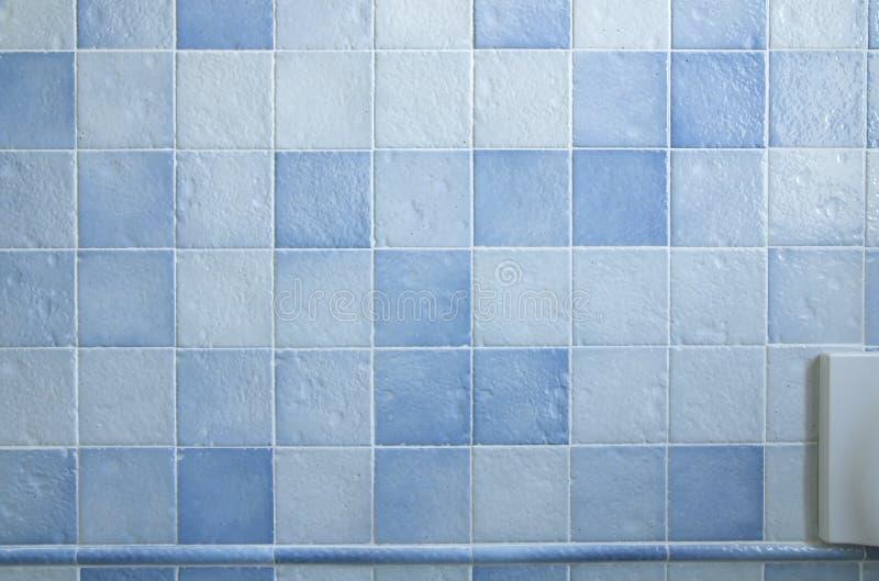 铺磁砖的墙壁 库存照片