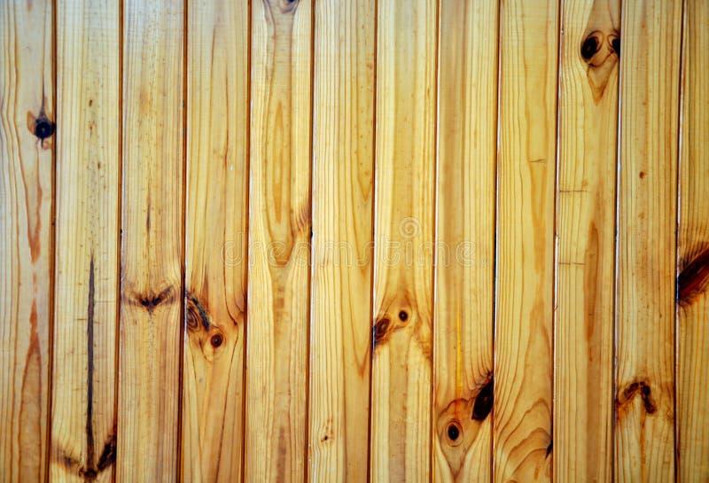 铺磁砖的木墙壁铺板框架纹理 老土气木板条 免版税库存照片