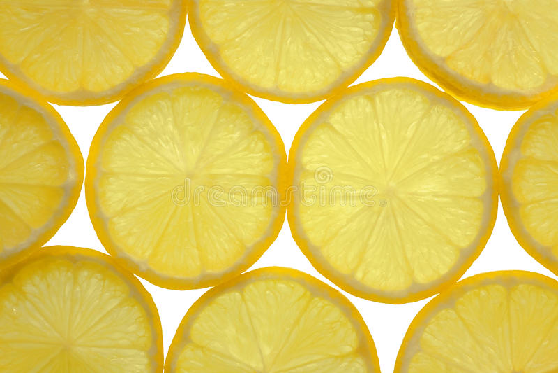 铺磁砖的背景柠檬 免版税库存图片