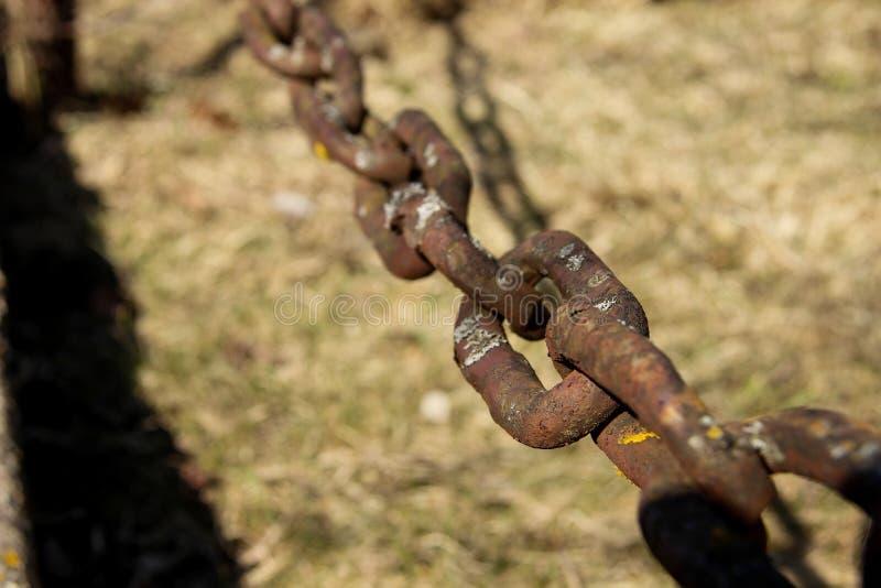 链子的紧固的元素 ?? 免版税库存图片