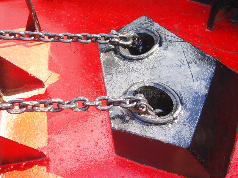 Download 链子 库存照片. 图片 包括有 金属, 投反对票, 红色, 链子, 安装, 建筑, 设备, 小船 - 180184