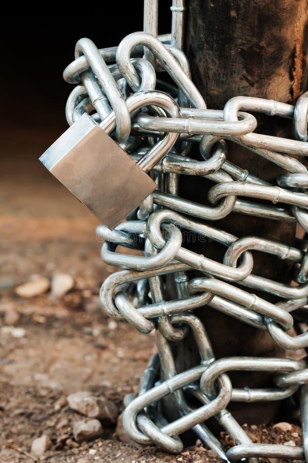 链挂锁 图库摄影