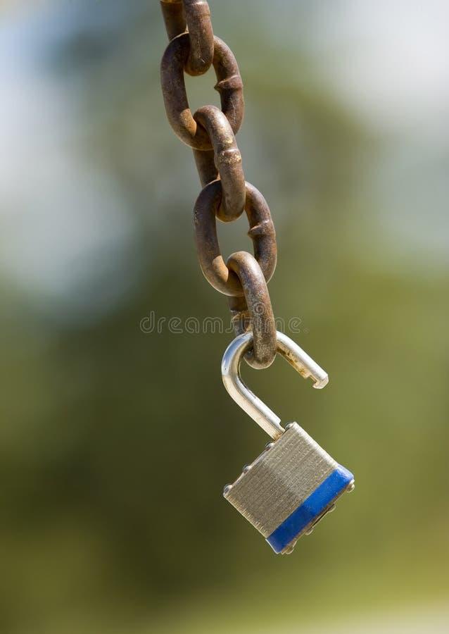 链挂锁 免版税库存照片