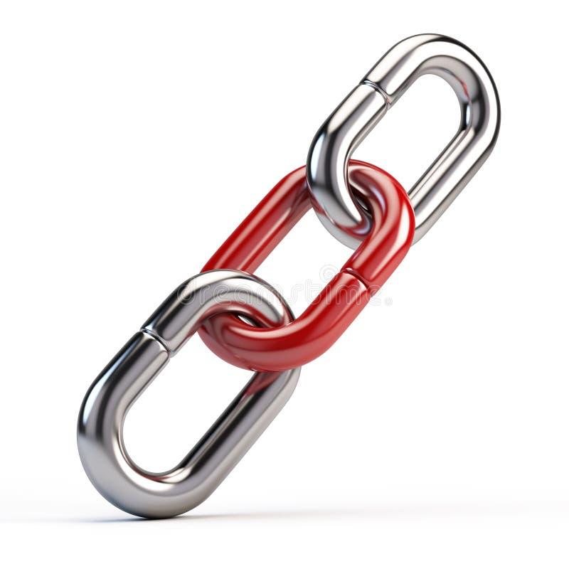 链接象 向量例证