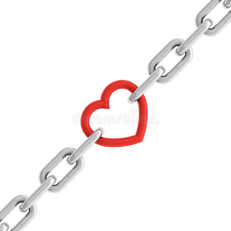 链重点 向量例证