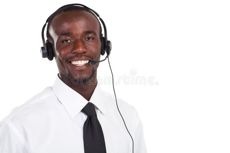 销售人员电话 免版税库存图片