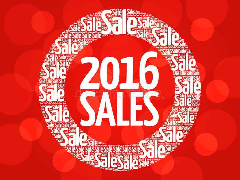 Download 2016销售圈子词云彩 库存例证. 插画 包括有 便宜地, 季节, 目标, 云彩, barf, 处理, 标签 - 62538961