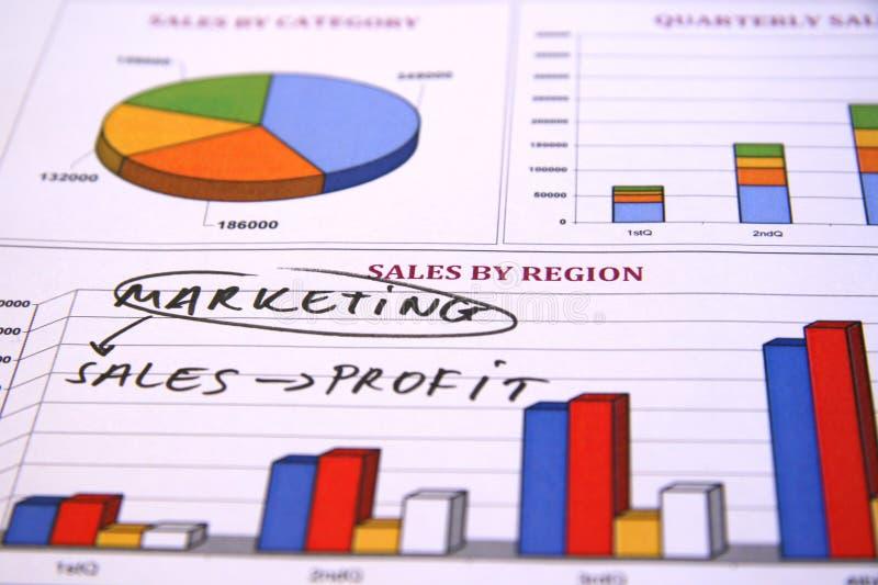 销售方针 免版税库存图片