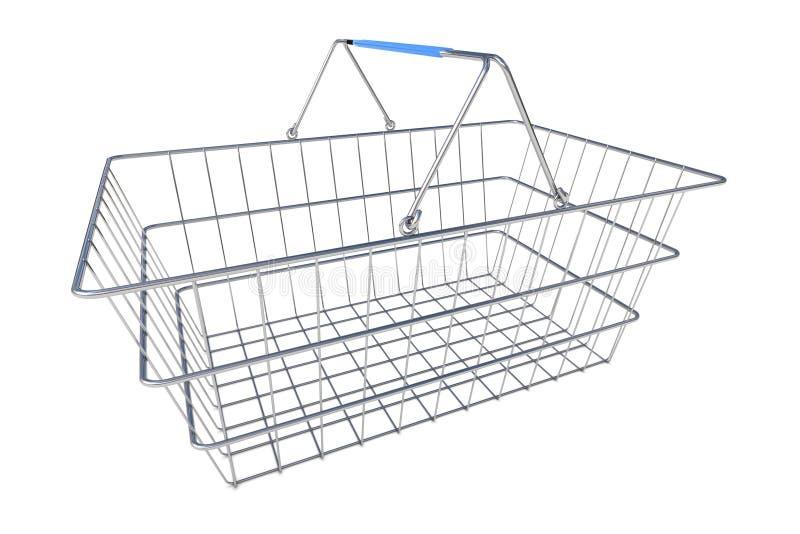 销售篮子例证 库存例证