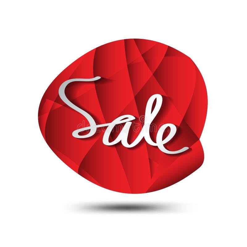 销售象,圈子多角形传染媒介,贴纸,标签,按钮,标记,促进横幅,营销 向量例证