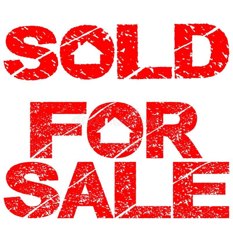 销售额出售印花税 向量例证