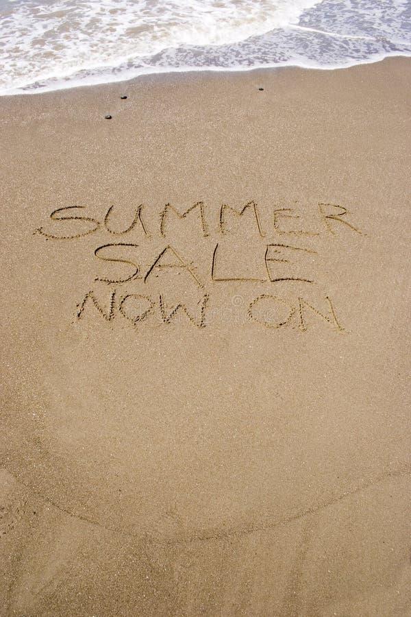 销售额夏天 库存照片