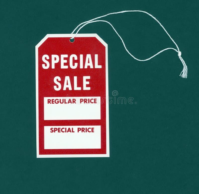 销售额特殊标签 免版税图库摄影