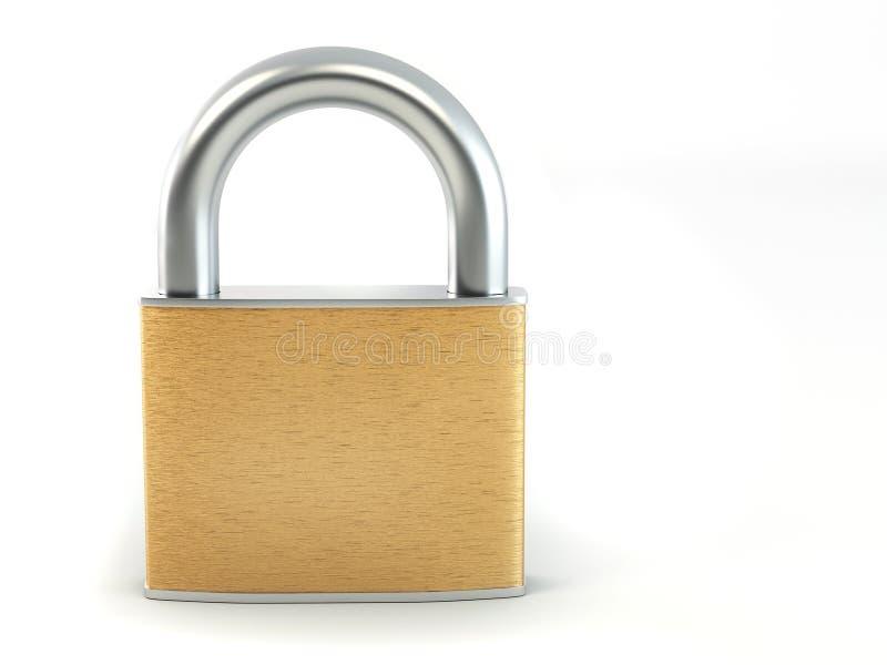 锁定 库存例证