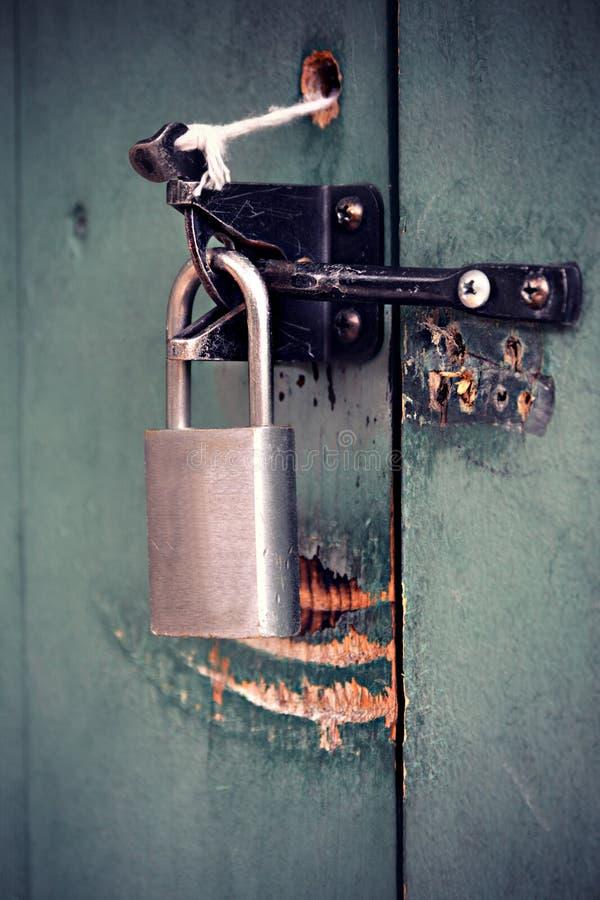 锁定 免版税库存照片