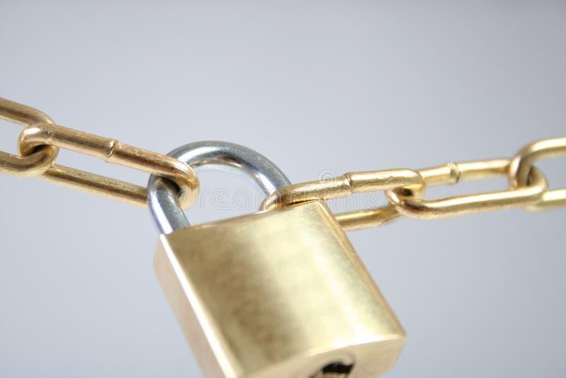 锁定 免版税库存图片