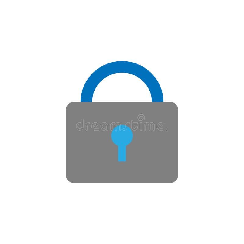 锁着和闭合的象 流动概念和网应用程序的用户界面象的元素 详述的锁着和闭合的象可以是 皇族释放例证