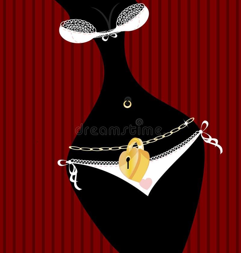Download 锁着的内裤 向量例证. 插画 包括有 女用贴身内衣裤, 卖弄风情, 鞋带, 方式, 抽象, 匙孔, 弯曲 - 30331907