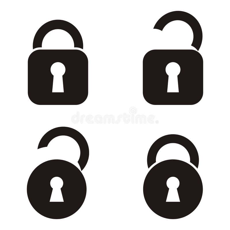 锁象 库存例证