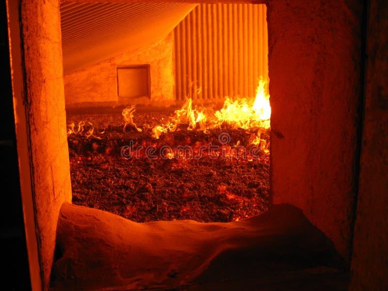 锅炉炉篦 免版税图库摄影