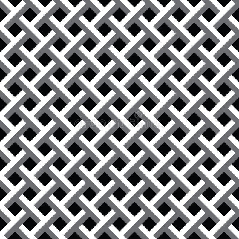 锐纹无缝重复纹理背景矢量图 免版税库存照片