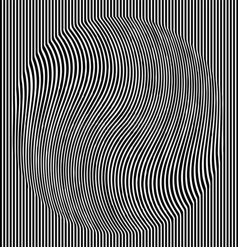 错觉作用 在menfis流行艺术样式的几何瓦片 传染媒介虚幻的背景,纹理 未来派元素 库存例证