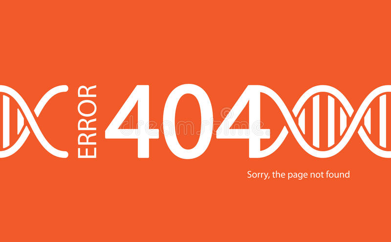 404错误 不是被找到的页 与断裂connec的抽象背景 向量例证