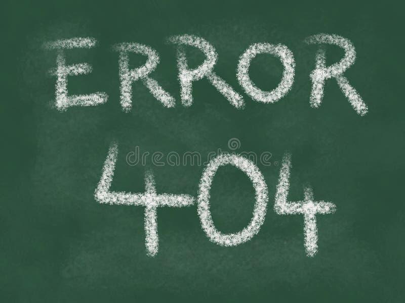 404错误 皇族释放例证