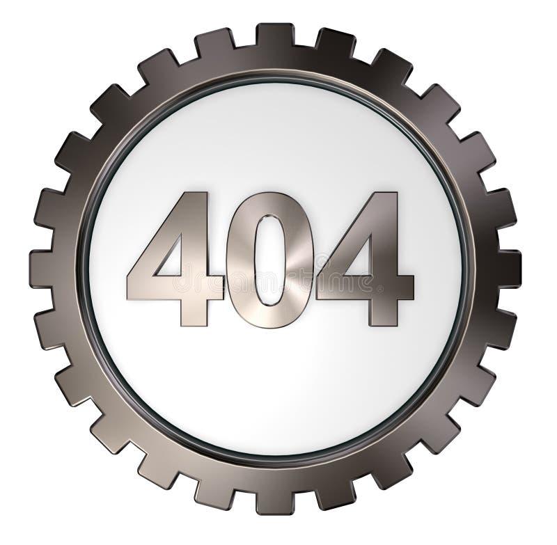 错误404 皇族释放例证