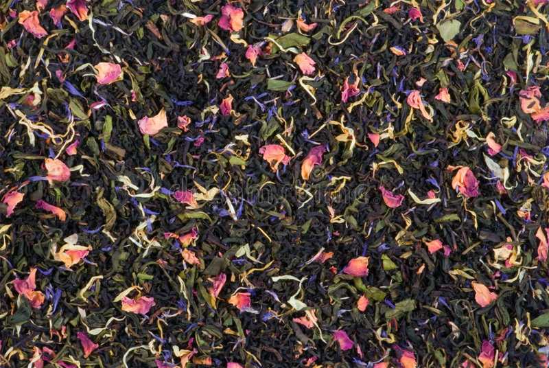 锡兰混合茶 免版税库存照片