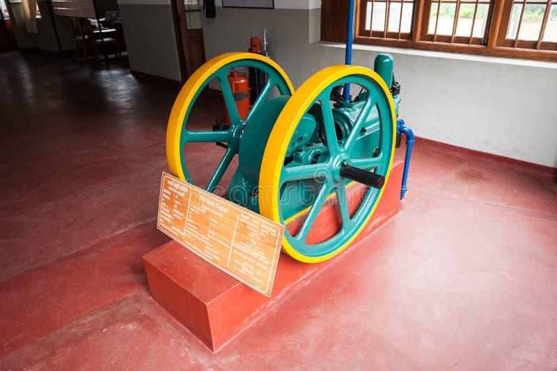 锡兰茶博物馆,康提 库存图片