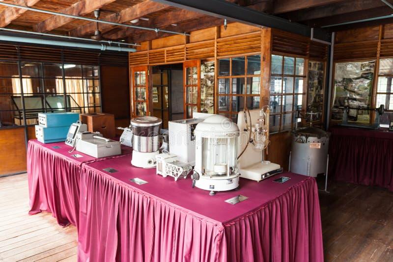 锡兰茶博物馆,康提 库存照片
