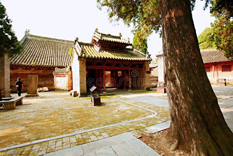 锡昂队严寺庙 免版税图库摄影