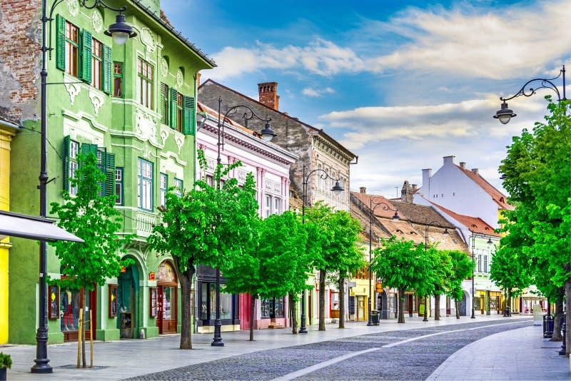 锡比乌,罗马尼亚特兰西瓦尼亚 库存照片