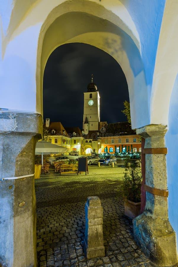 锡比乌,罗马尼亚 免版税库存照片