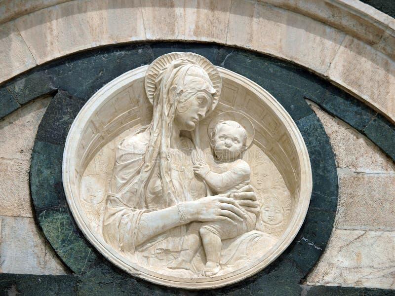 锡耶纳-中央寺院。 免版税库存图片