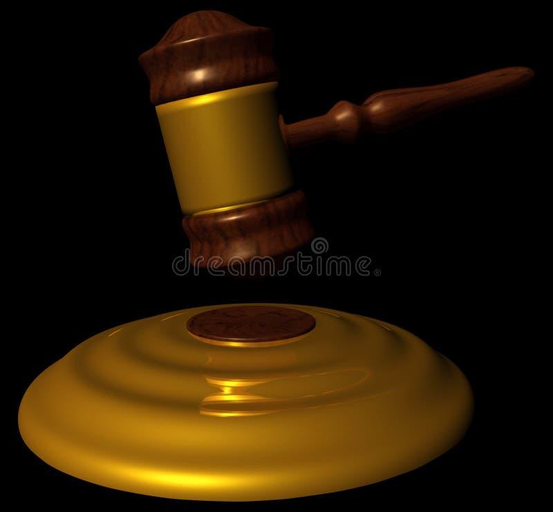 锤子律师 皇族释放例证