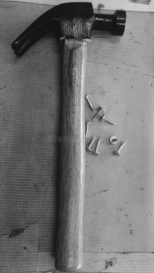 锤子 免版税库存照片
