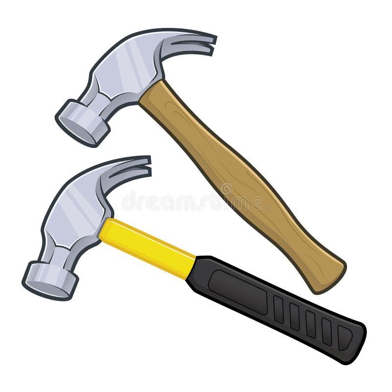 锤子 库存例证