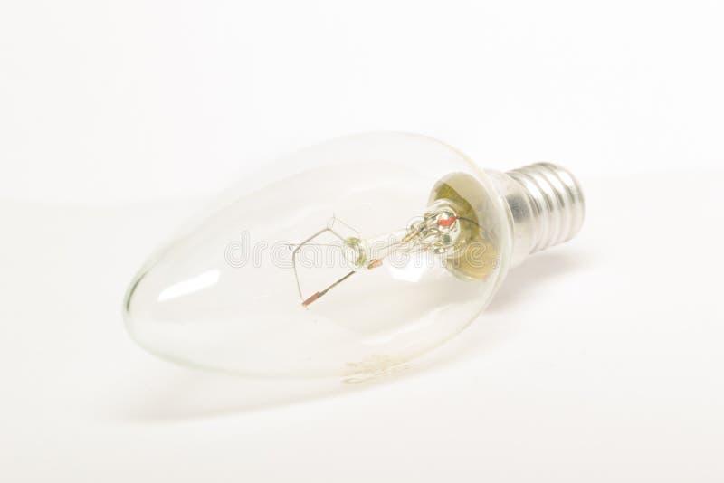 锥体电灯泡 库存图片