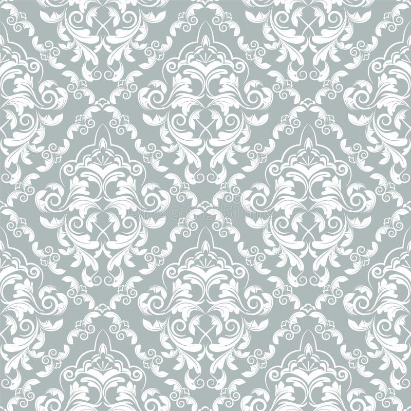 锦缎作用patterncan被重复变换墙纸 皇族释放例证