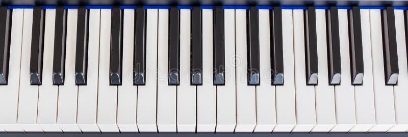 琴键合成器 库存图片