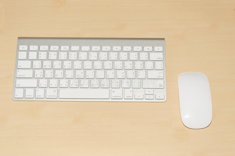 键盘和老鼠 库存图片