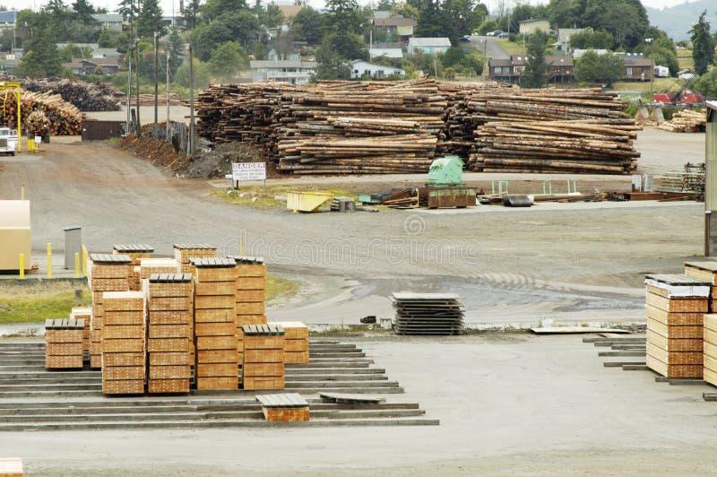 锯木厂2 库存图片