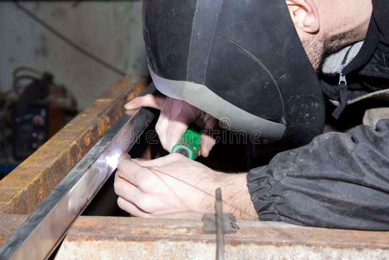 锻件铁 免版税库存照片