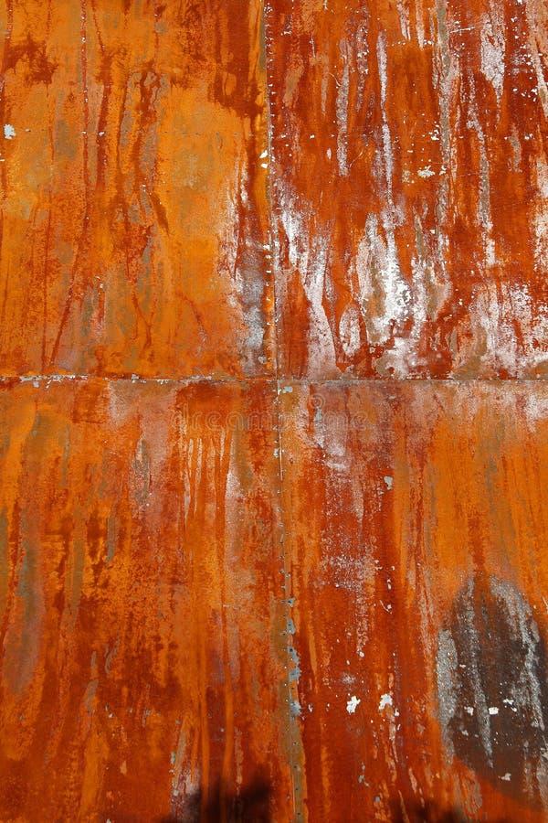 镀生锈的钢 免版税库存照片