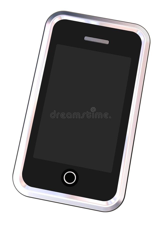 镀铬物路径smartphone 向量例证