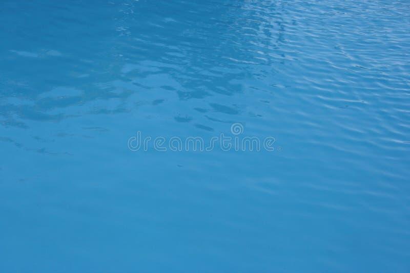 镇静池水 免版税库存图片